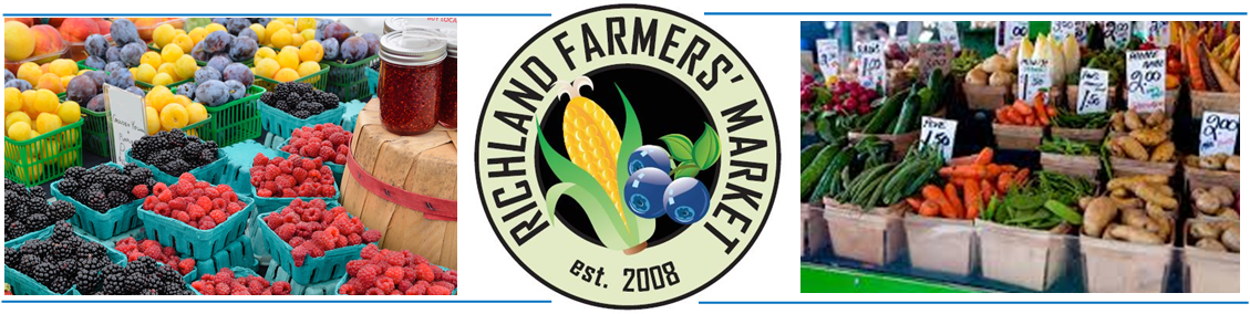 Richland Farmers' Market at the RACC!